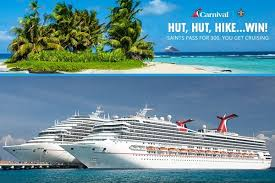 Carnival Saints Choose Fun Sweepstakes