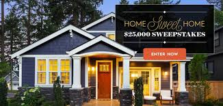 Better Homes and Gardens $25000 Home Sweet Home Sweepstakes