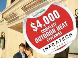 Bob Vila $4000 Complete Outdoor Heat with Infratech Giveaway