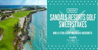 Sandals Resorts Sandals and Beaches Q4 Sweepstakes