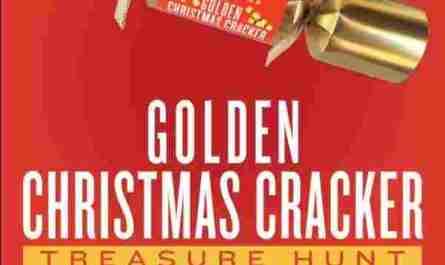 Cost Plus World Market Golden Christmas Cracker Treasure Hunt Sweepstakes