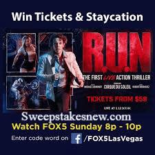 Fox 5 Las Vegas Cirque du Soleil R.U.N. Sweepstakes