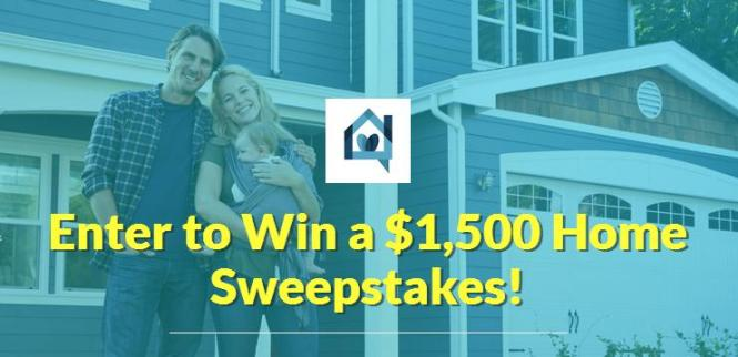 Happy Home Insider $1500 Home Sweepstakes