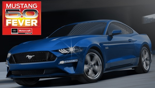 Motorcraft Mustang 5.0 Fever Sweepstakes