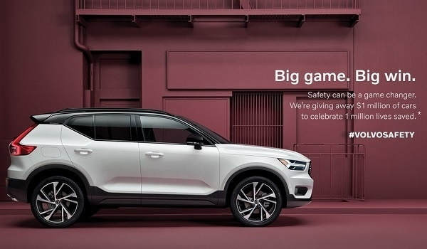 Volvo Cars Sweepstakes 2020