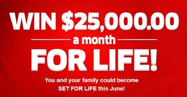 PCH.com Win $25000 a Month for Life Giveaway