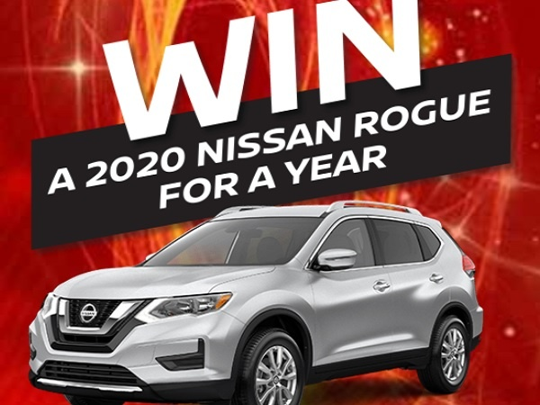 Go Auto's Win 2020 Nissan Rouge For a Year Sweepstakes