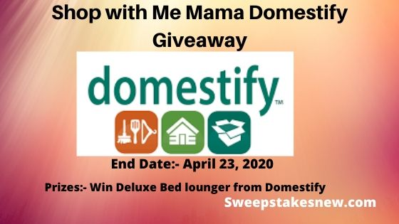 Shop with Me Mama Domestify Giveaway