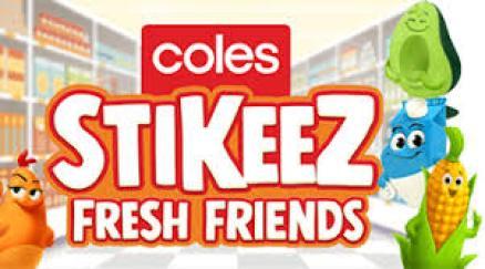 Coles Stikeez Fresh Friends Competition