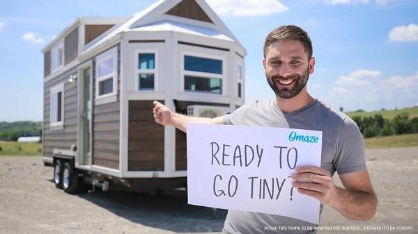 Omaze Tiny Home Sweepstakes 2020