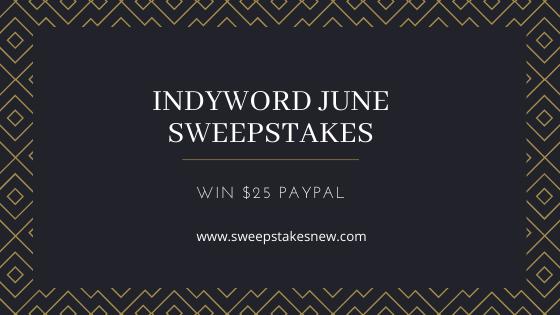 Indyword June Sweepstakes