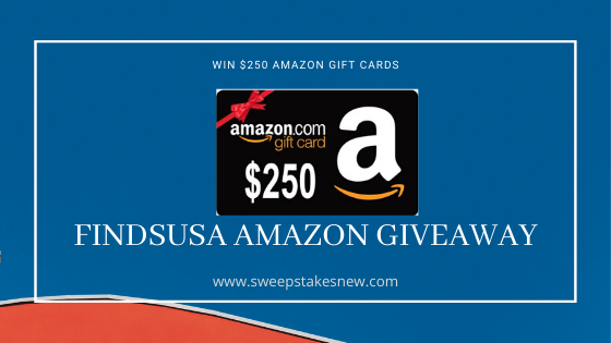 FindsUSA Amazon Giveaway