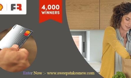 Shell Mastercard Reward Card Giveaway