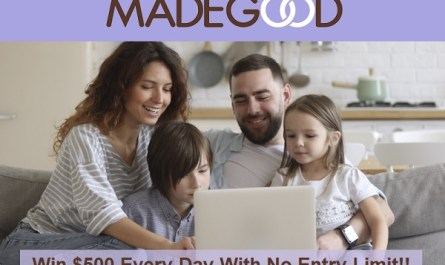 MadeGood Moments Sweepstakes on madegoodmoments.com