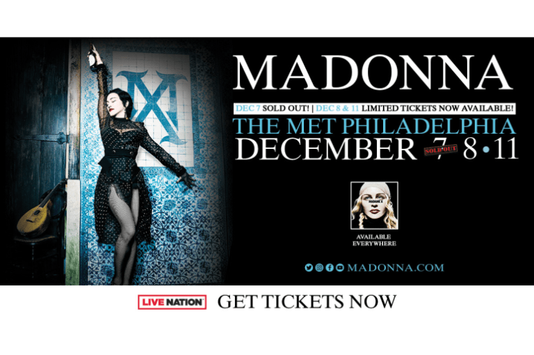 WOGL Madonna Madam X Tour Sweepstakes