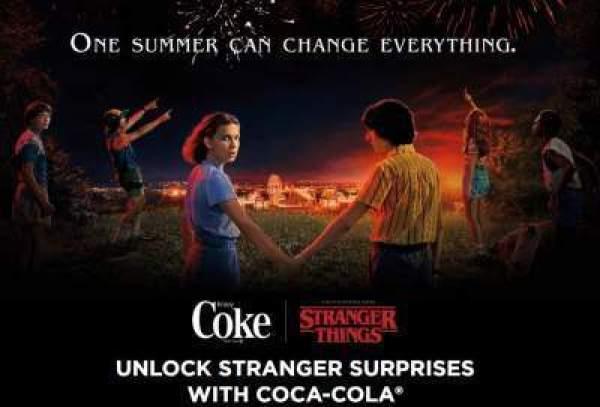 Coke Stranger Things Instant Win Game