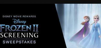 Disney Movie Rewards Frozen 2 Screening Sweepstakes