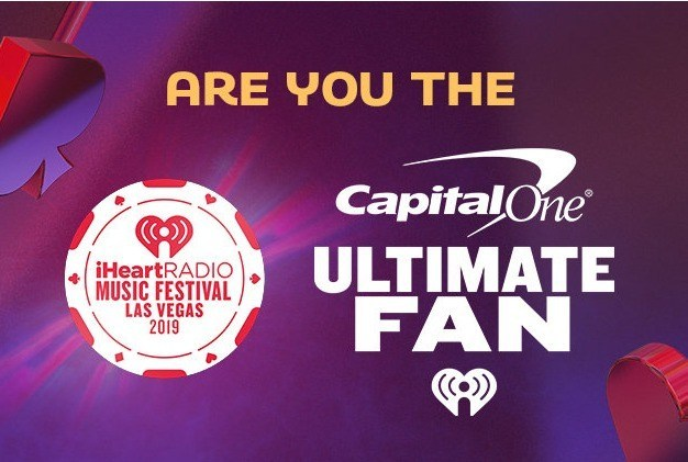 iHeartRadio Music Festival Capital One Ultimate Fan Sweepstakes – Win a Trip Las Vegas