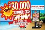 Food Bazaar 30K Summer Cash Giveaway