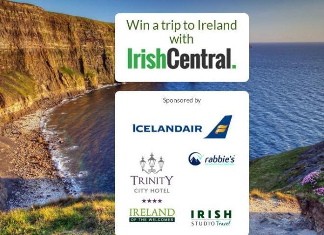 IrishCentral 2019 Sweepstakes