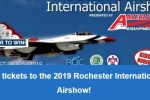 Rochester Airshow Sweepstakes