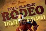 Seven Feather Rodeo Ticket Giveaway