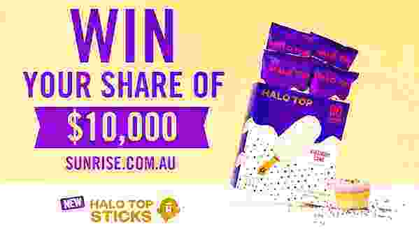 Channel Seven Weekend Sunrise Halo Top Competition