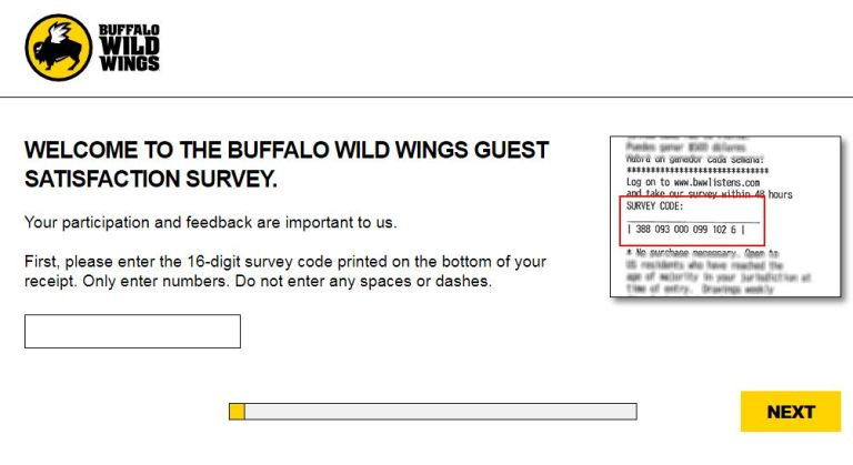 Buffalo Wild Wings Guest Satisfaction Survey - Win Cash Prizes