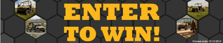 Cat Utv Giveaway – Win A Utility Vehicle