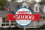Champion Windows and Home Exteriors Giveaway - Win Cash Prizes