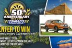 Conrads 50th Anniversary Sweepstakes - Win Car