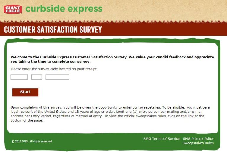 Curbside Express Listens Satisfaction Survey - Win Gift Card