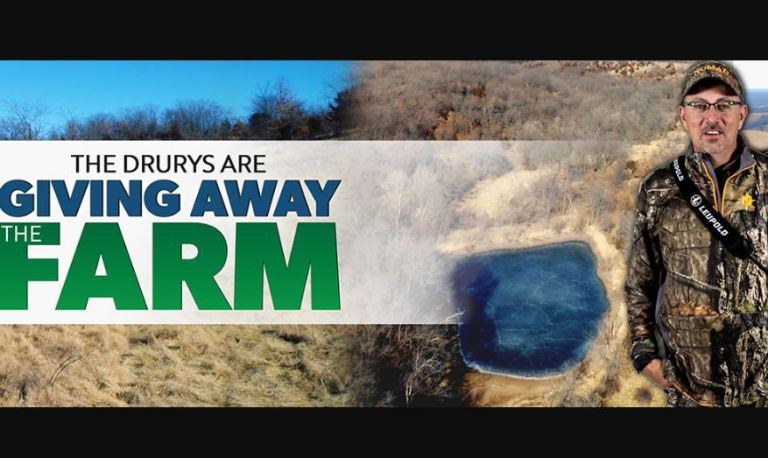 Drury Outdoors Farm Giveaway - Win Prize