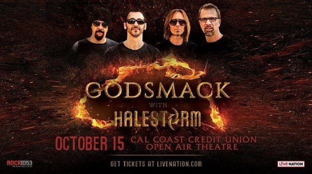 Godsmack With Halestorm Tickets Giveaway – Win Tickets