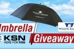 KSN Umbrella Giveaway Contest - Win KSN Umbrella