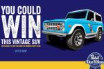 Pabst Blue Ribbon Easy Vintage Sweepstakes - Win Cash Prizes