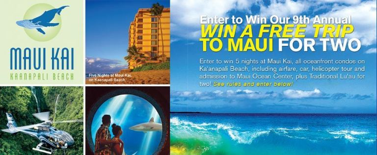 Perfect Days Hawaii Sweepstakes - Win Trip