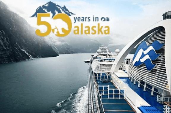 Princess Cruises Alaska 50th Anniversary Sweepstakes - Win Trip