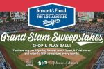 Smart & Final LA Dodgers Grand Slam Sweepstakes - Win Trip