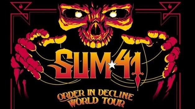 Sum 41 Tickets Giveaway - Win Trip