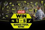 Tenplay The Living Room Ryobi Contest - Win Cash Prizes