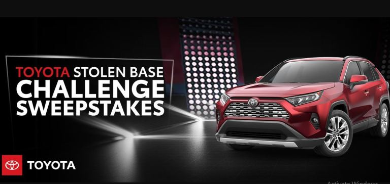 Toyota Stolen Base Challenge Sweepstakes - Win Gas Card