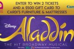 Aladdin Magic Carpet Giveaway – Win Pair Of Tickets