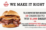 Tell Arbys Guest Satisfaction Survey