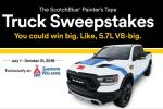 3M Scotchblue Painters Tape Sweepstakes - Win Car