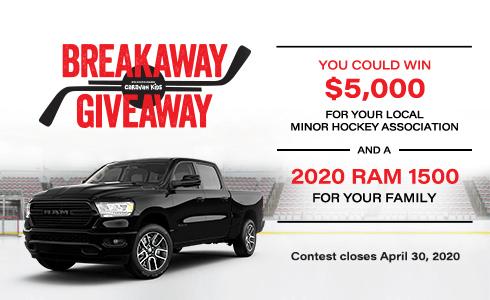 FCA Canada Breakaway Giveaway – Win Car