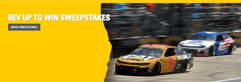 Caterpillar Rev Up To Win Sweepstakes – Win Trip