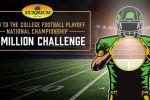 Eckrich College Football Sweepstakes - Win Cash Prize