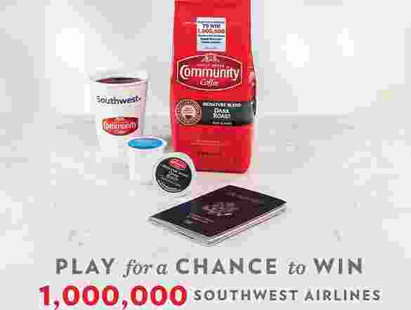 Community Coffee Fly More Sweepstakes - Win Cash Prizes