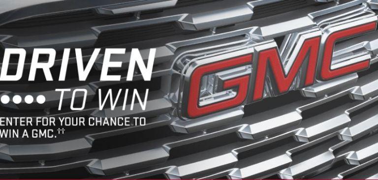 GMC Canada Driven to Win Contest - Win Car